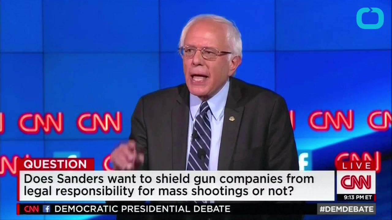 Hillary Clinton on Bernie Sanders' Position on Guns