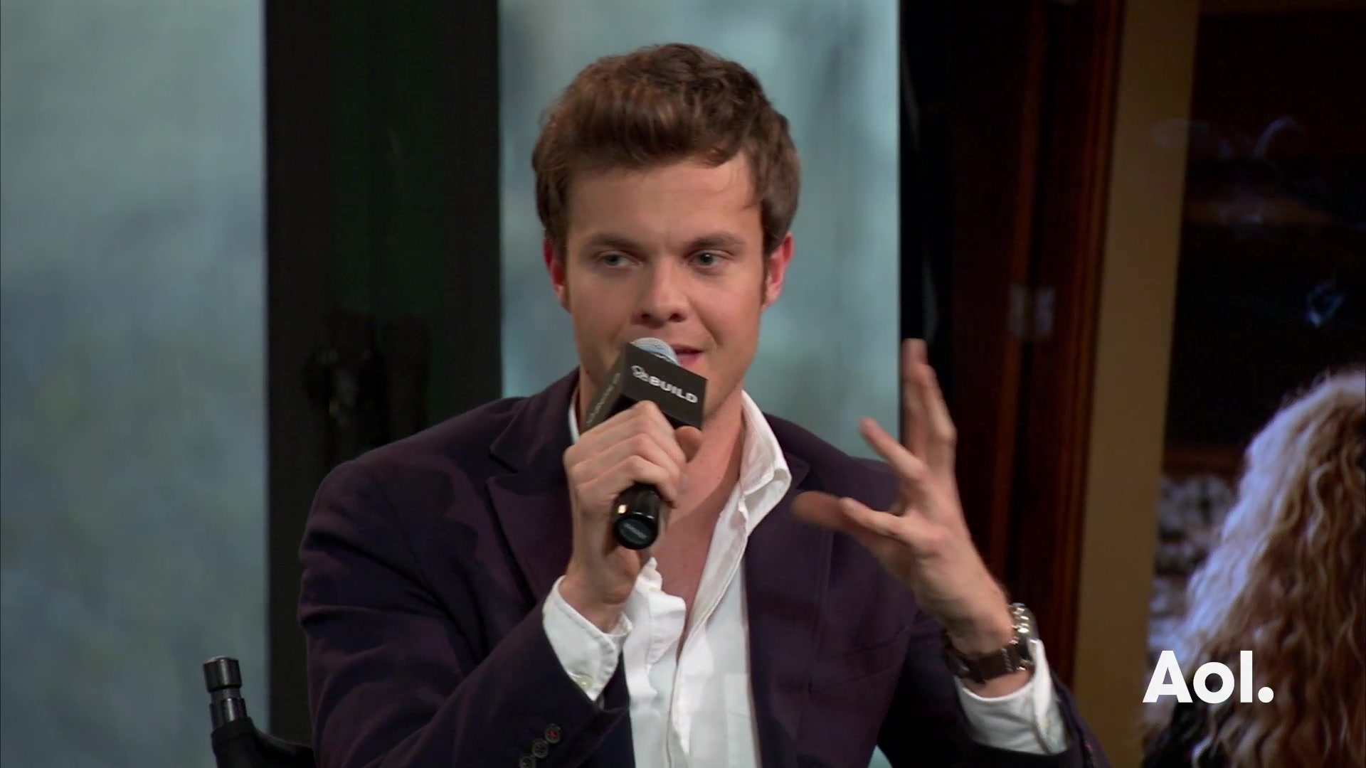 "Jack Quaid On ""Vinyl"""