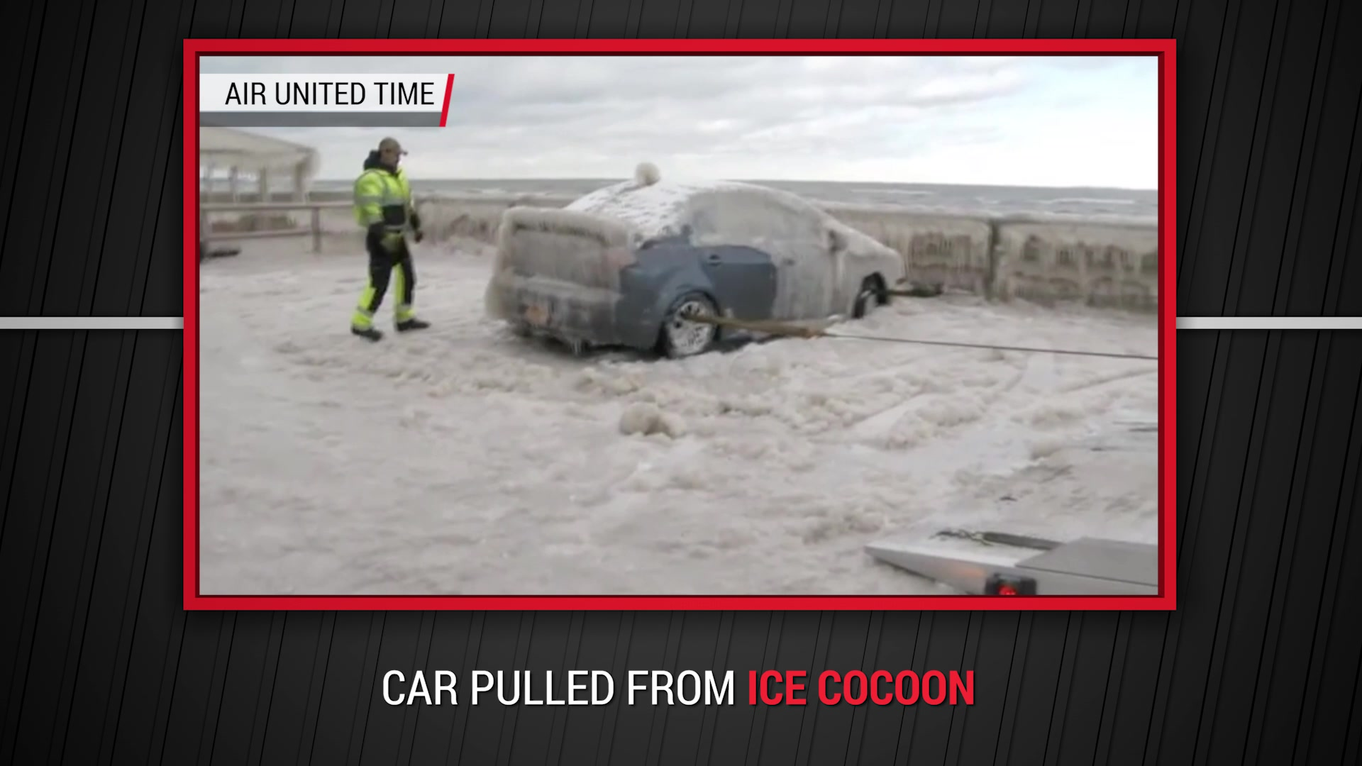 Car Pulled From Ice Cocoon | Autoblog Minute