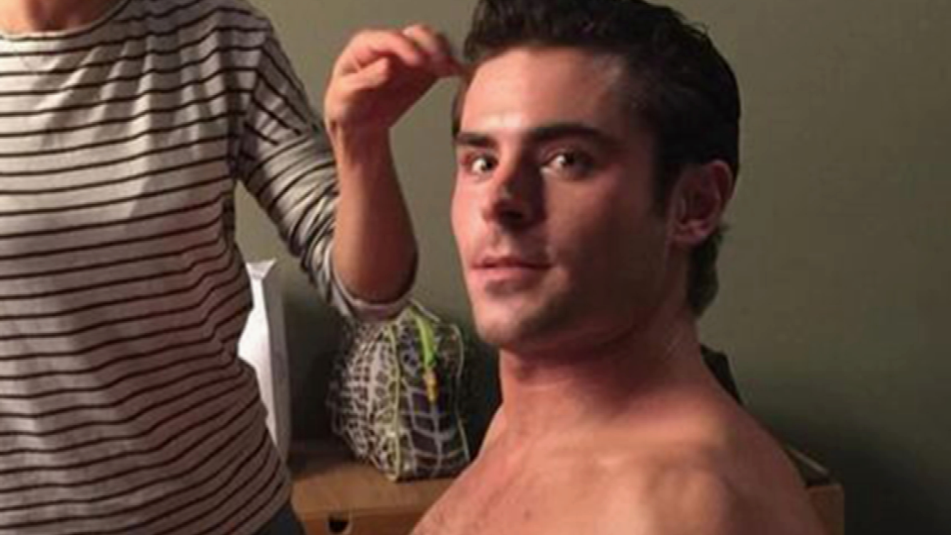 Zac Efron Has Muscles for Days