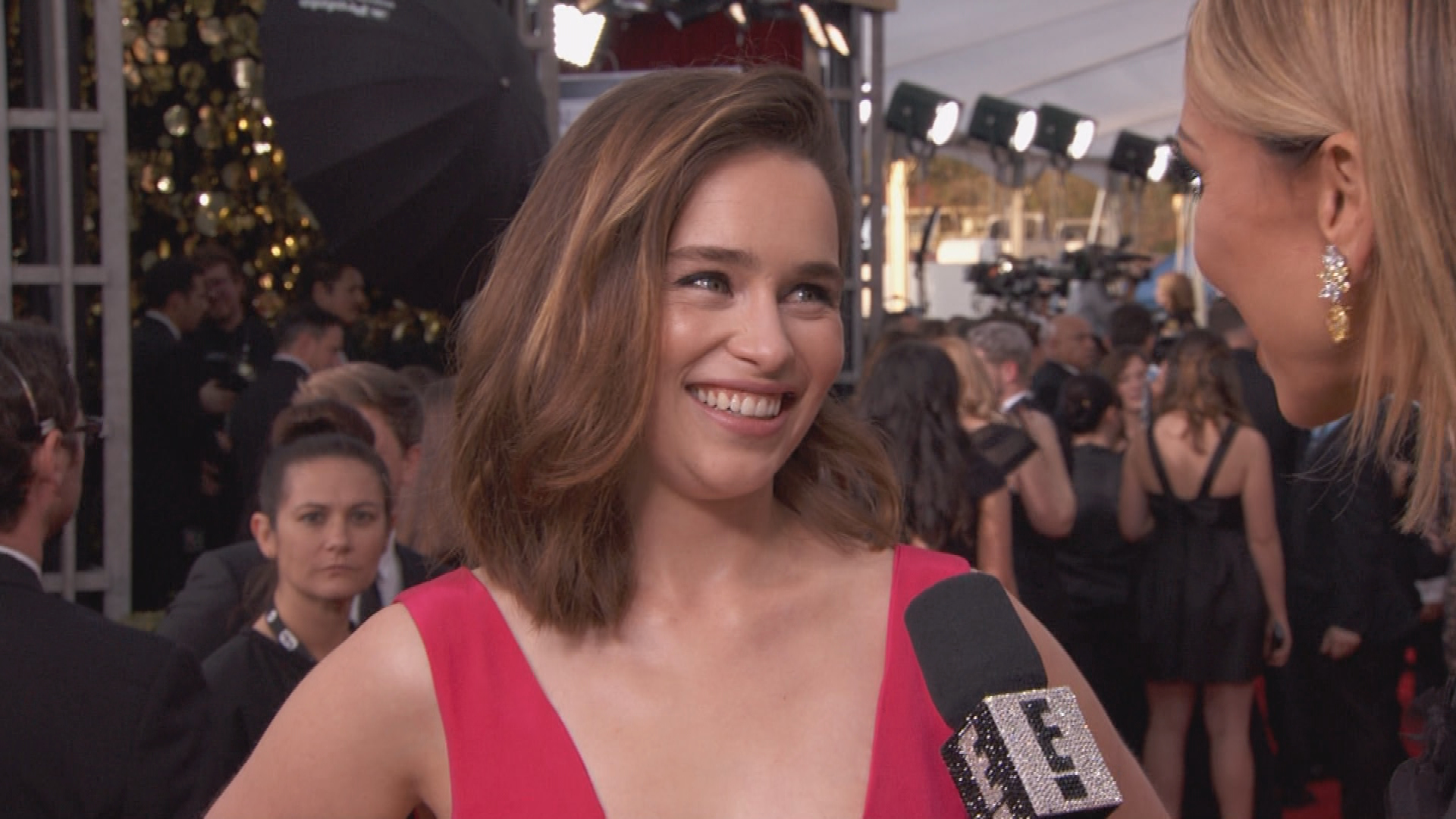 "Emilia Clarke Says ""Game of Thrones"" ""Almost Killed"" Them"