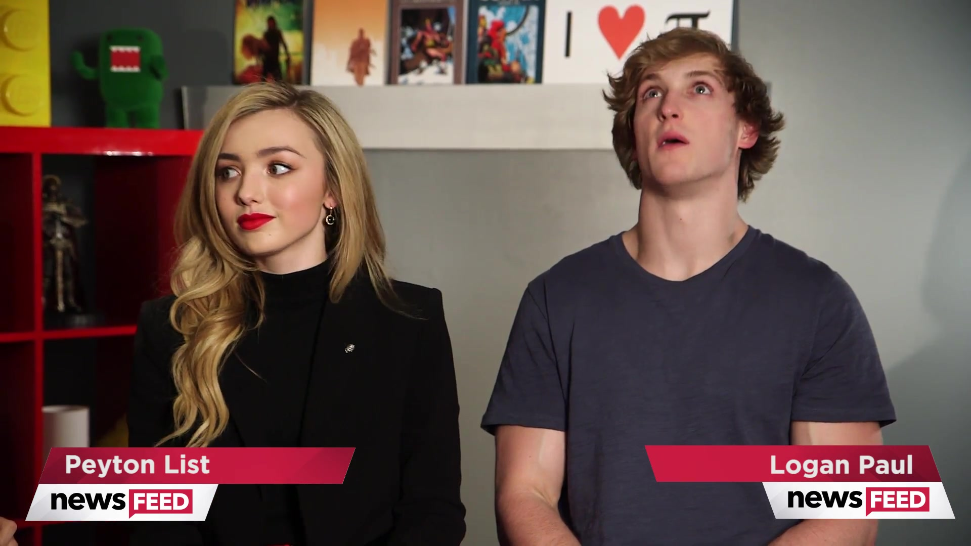 Logan Paul & Peyton List Talk About The Thinning