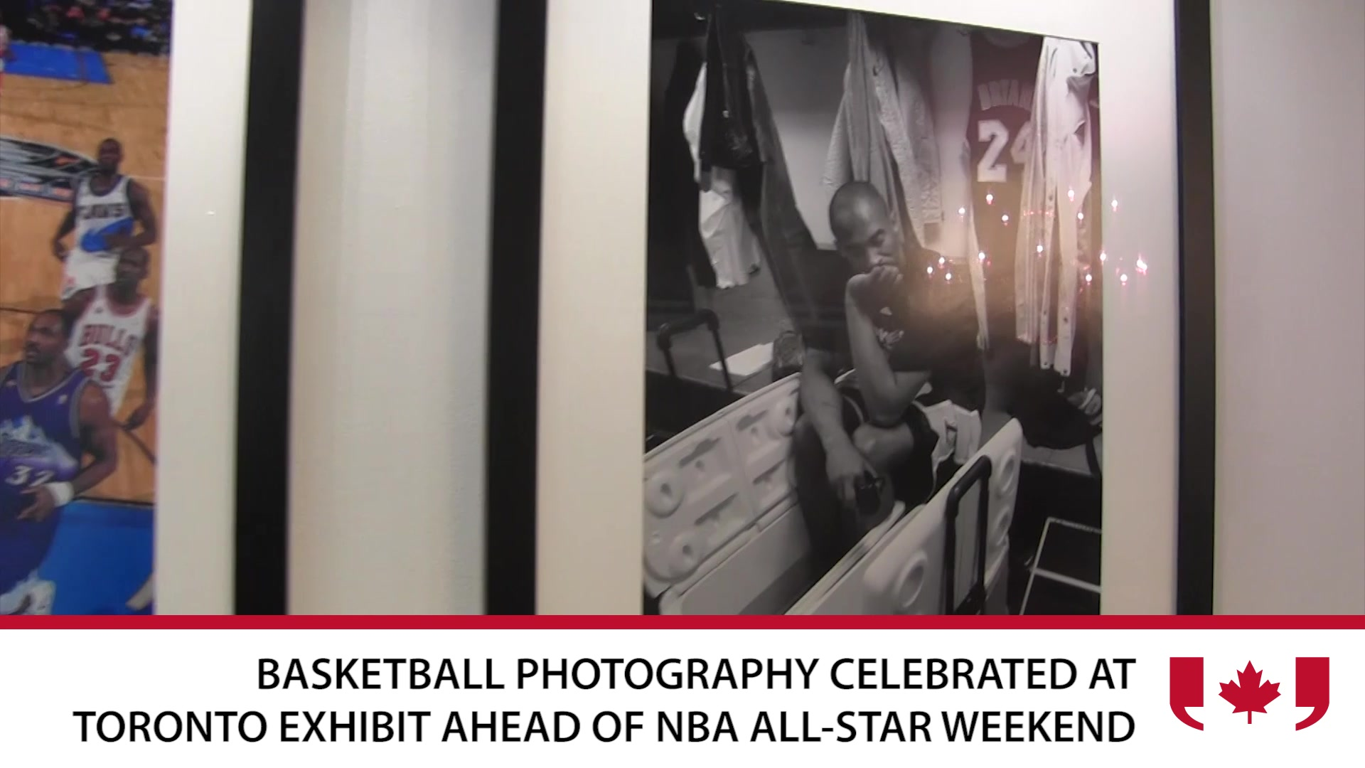 Basketball Photography on Display Ahead of NBA All-Star Game