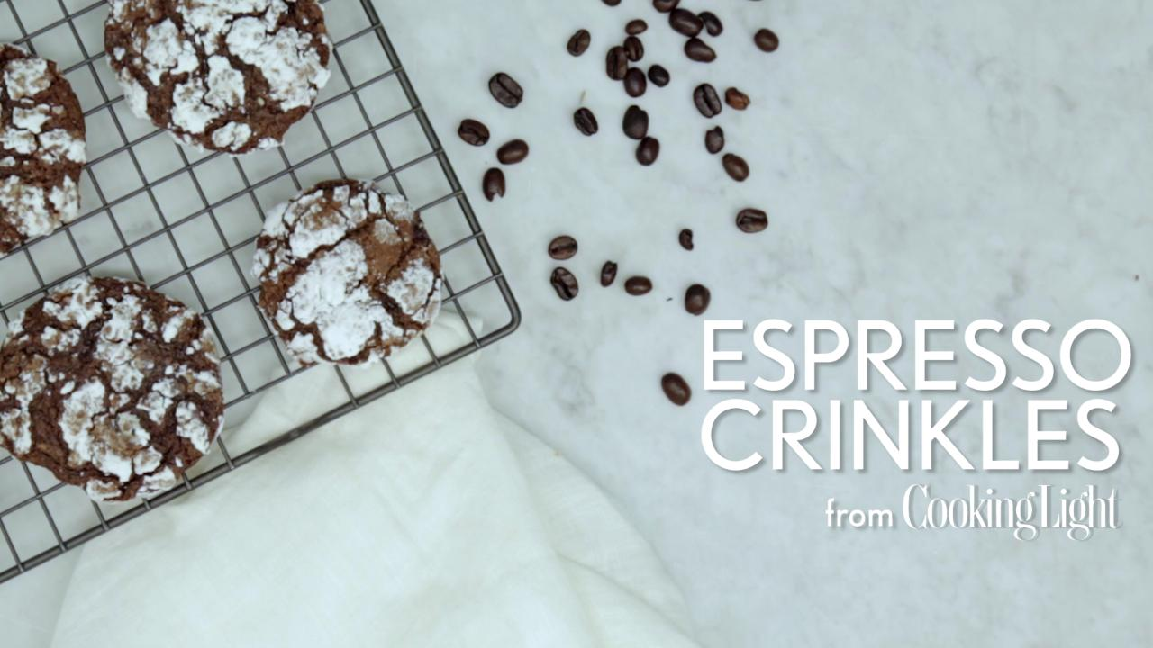 How to Make Espresso Crinkles