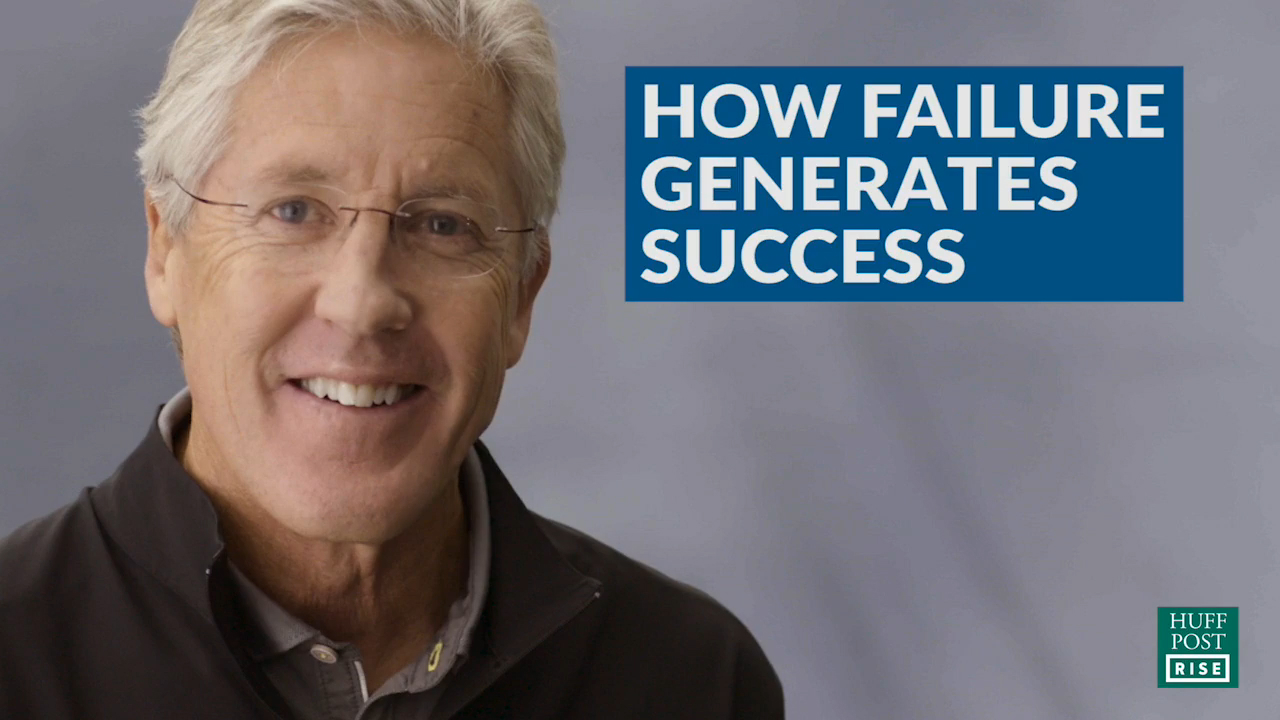 Pete Carroll Talks About Failure