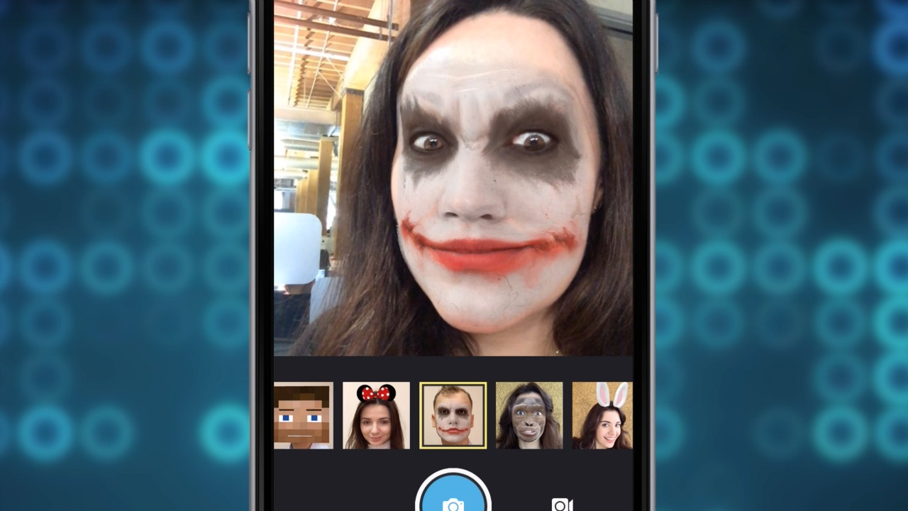 Masks And More With MSQRD's Selfie App