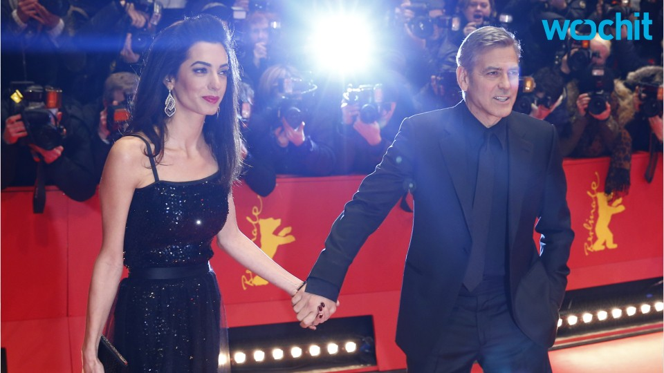 Amal Clooney Stuns in Sparkling Dress on the Red Carpet