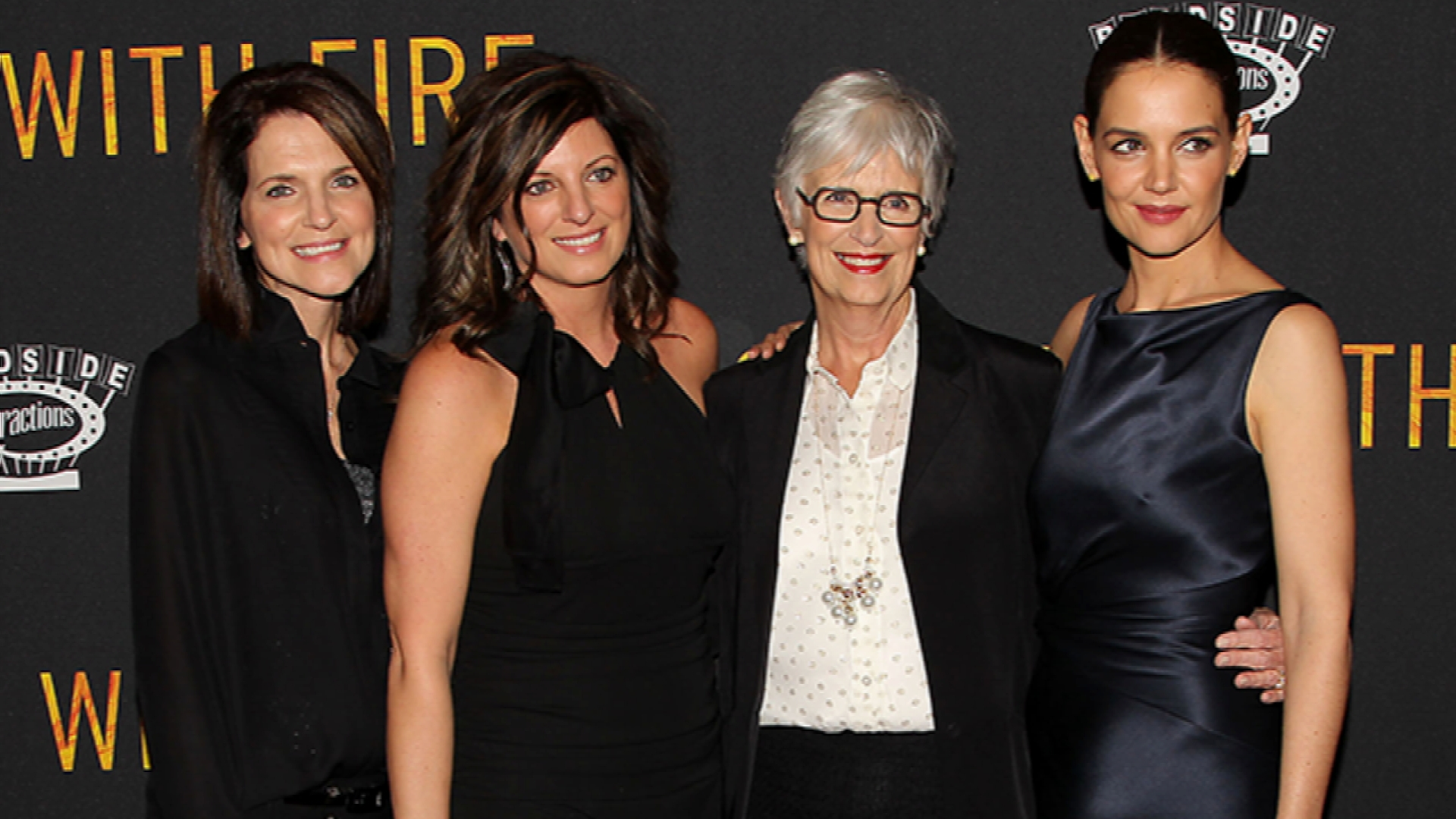 "Katie Holmes Makes ""Touched With Fire"" a Family Affair"