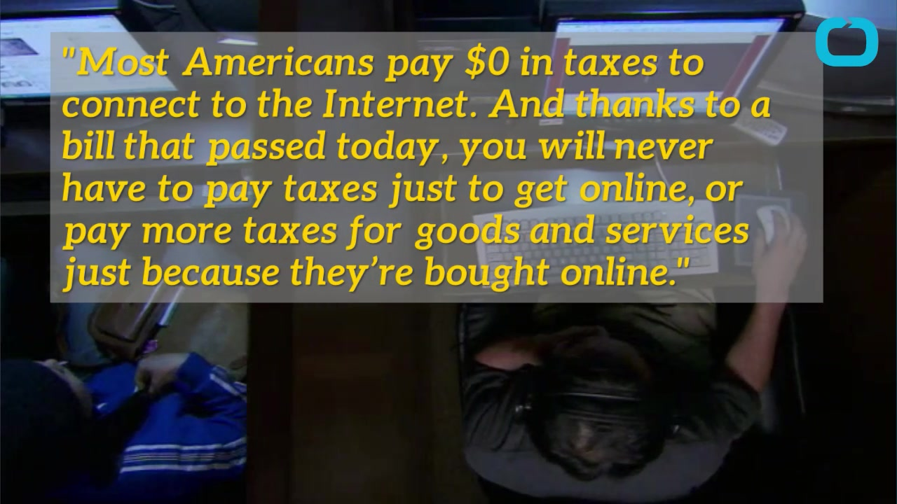 Permanent Internet Access Tax Ban Approved By Congress