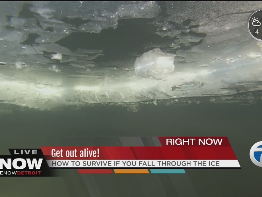 Get Out Alive: Falling Through the Ice