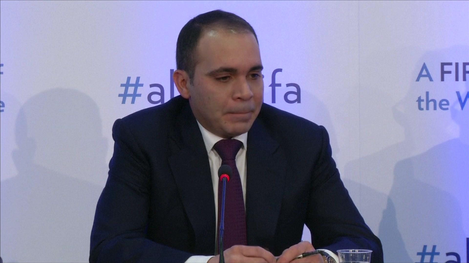Ali Questions FIFA Rival Salman Over Bahrain Protests