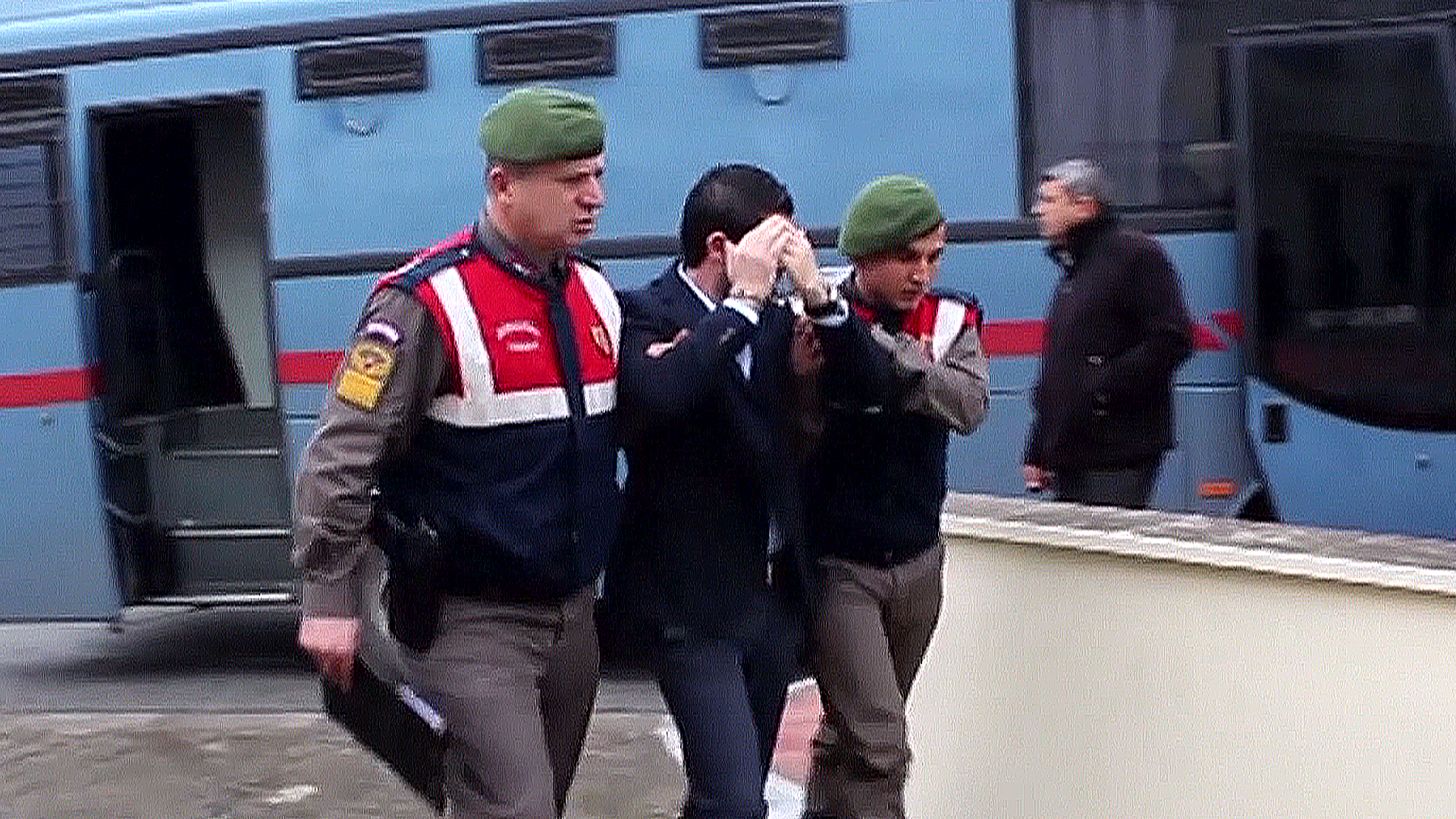 Accused Arrive for Bodrum Drowned Toddler Trial