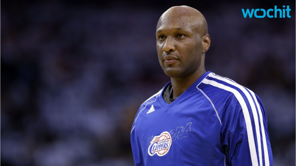Lamar Odom ''Nervous'' While Attending First Public Event