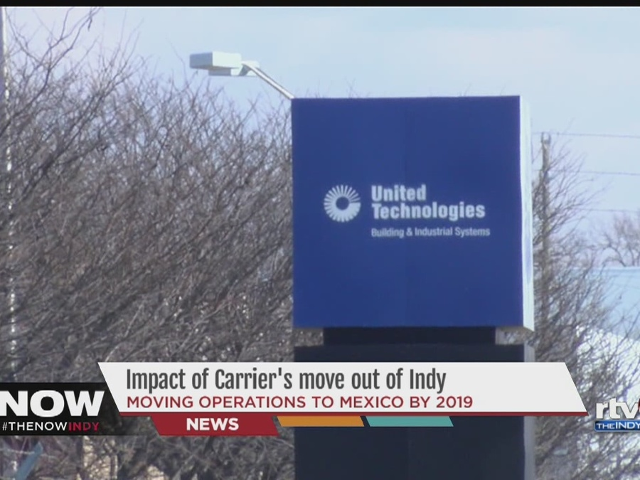 Carrier Employees, Local Businesses Reel After Announcement of Move to Mexico