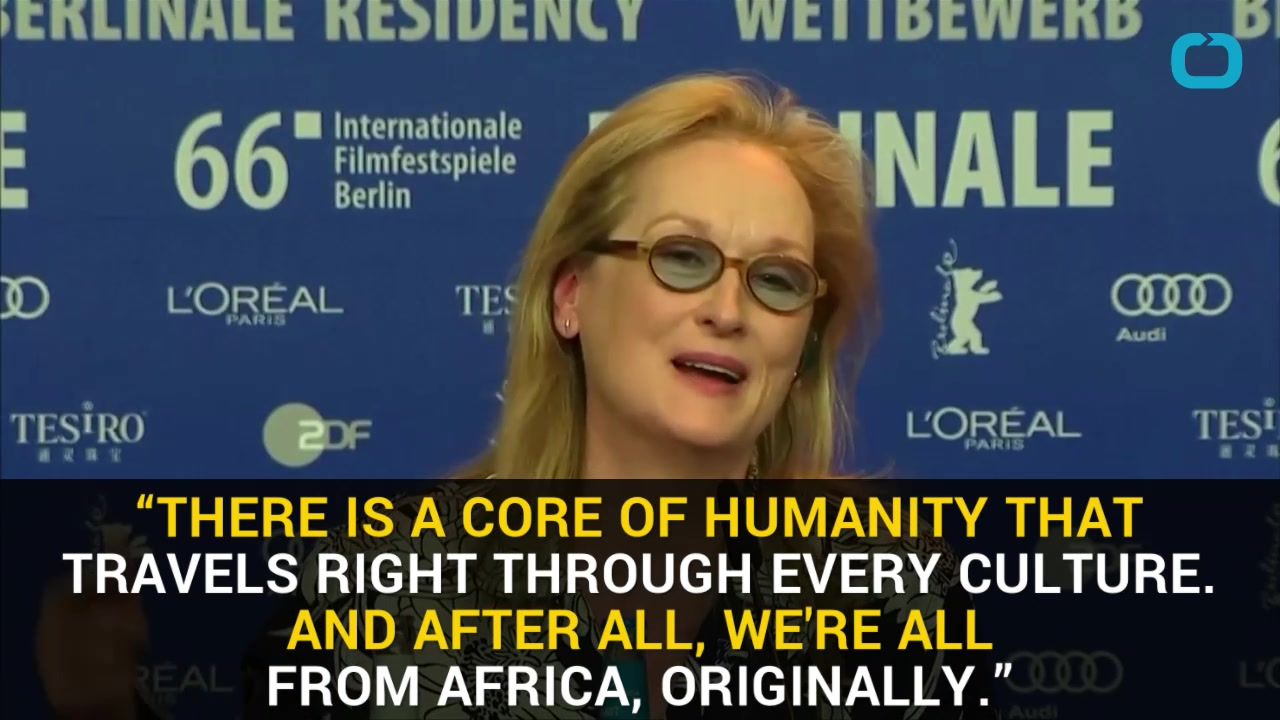 Meryl Streep Spreads Message of Inclusion