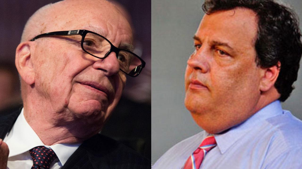 """Rupert Murdoch Calls Chris Christie A """"Suicide Bomber"""""""