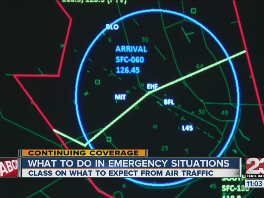 Kern County Pilots Learn About Air Traffic Control