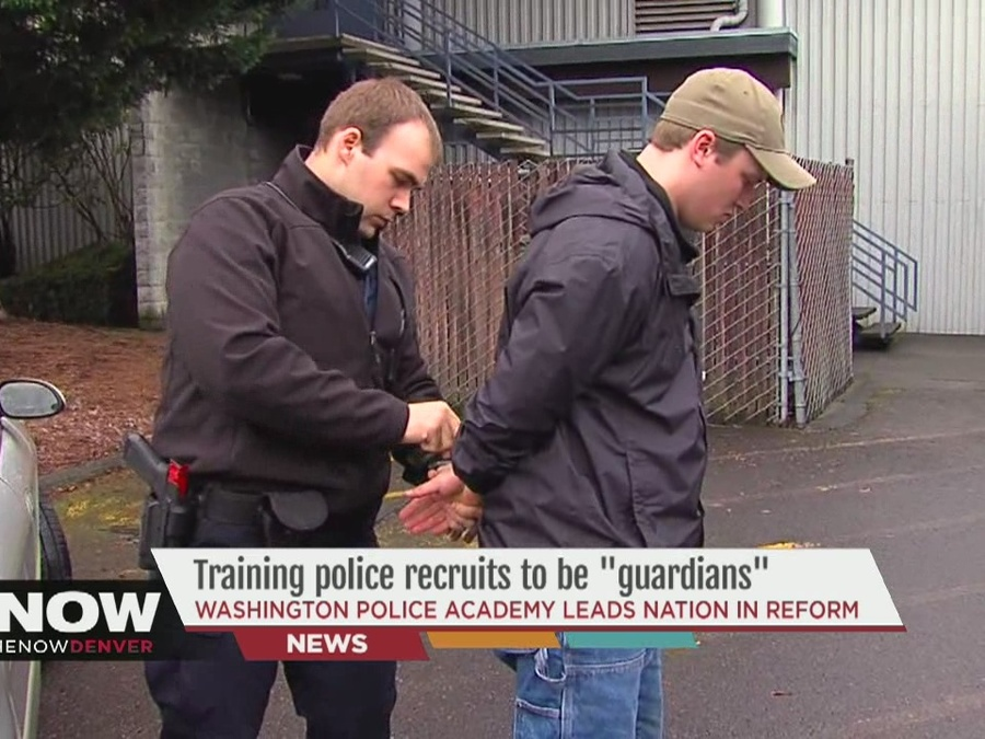 "Training Police Recruits to Be ""Guardians"""