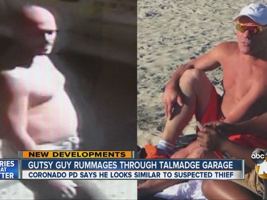 Gutsy Guy Seen on Surveillance Entering Talmadge Garage