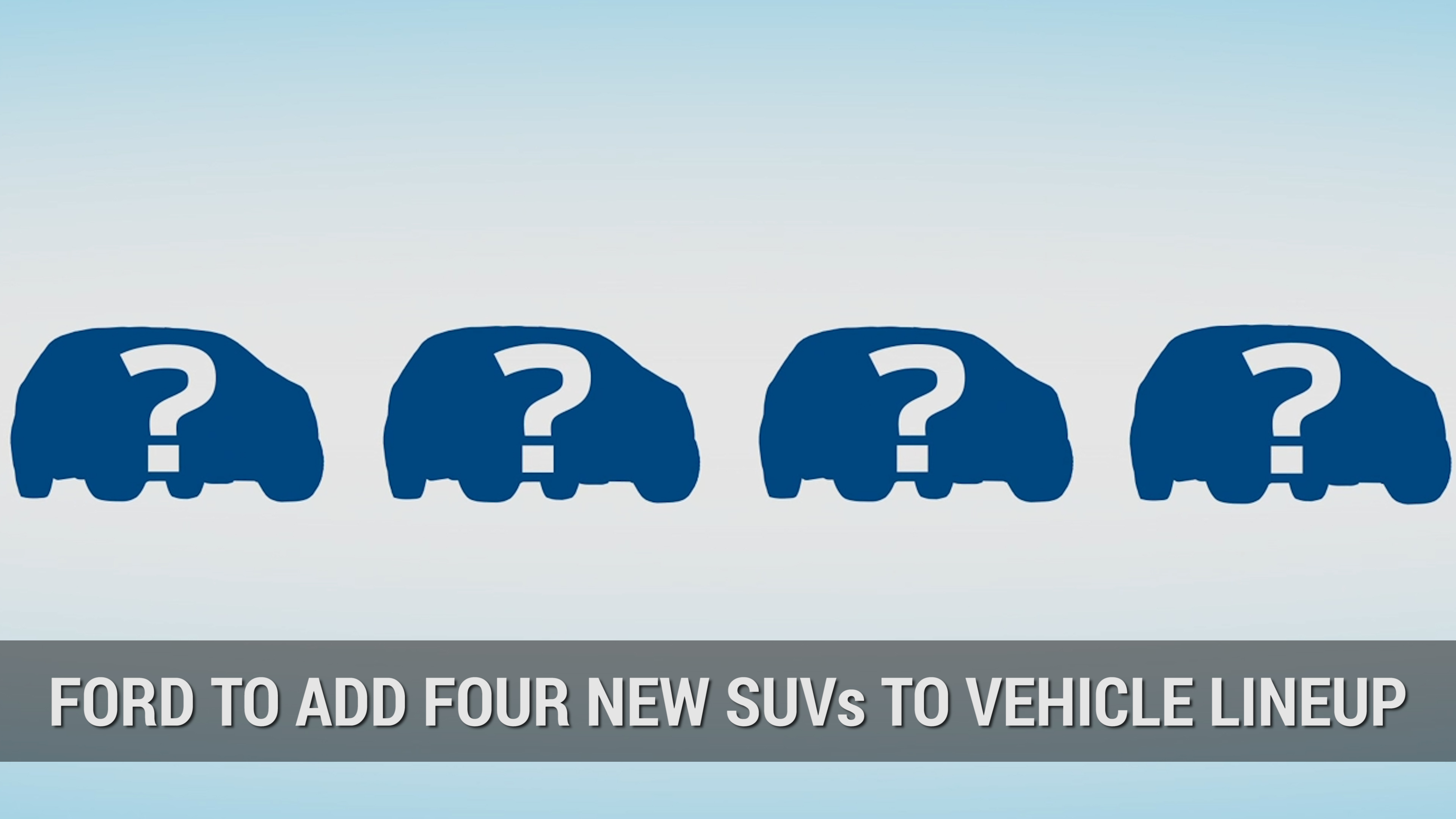 Ford Planning to Add Four SUVs To Lineup | Autoblog Minute