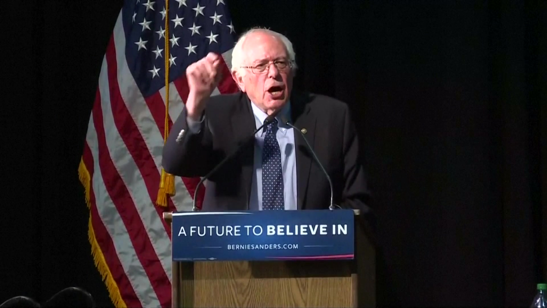 Sanders Repeats Call for Universal Health Coverage