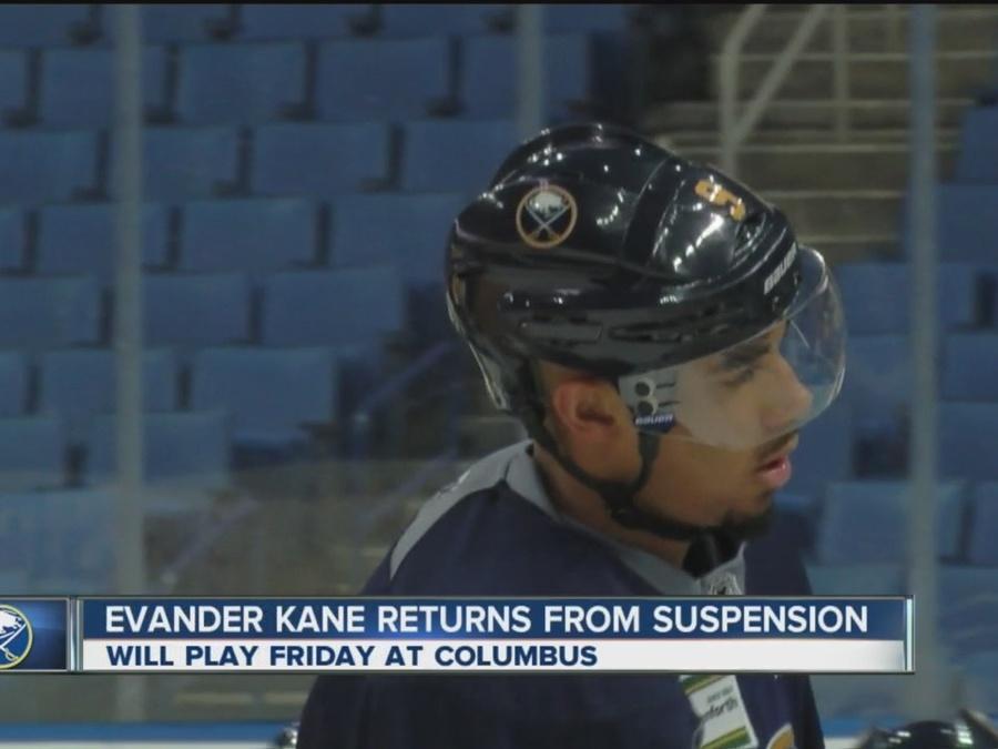 Evander Kane Returns