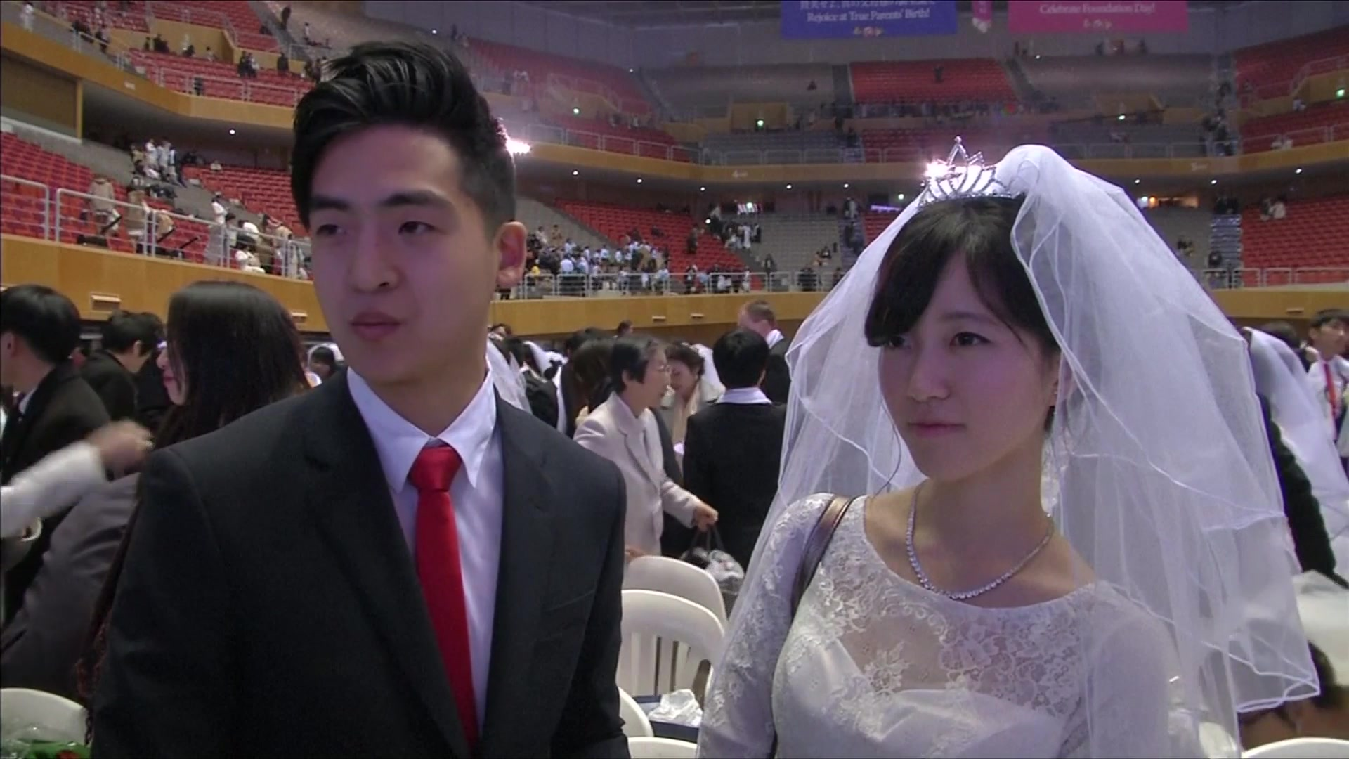 Thousands Tie the Knot in South Korea's Mass Wedding
