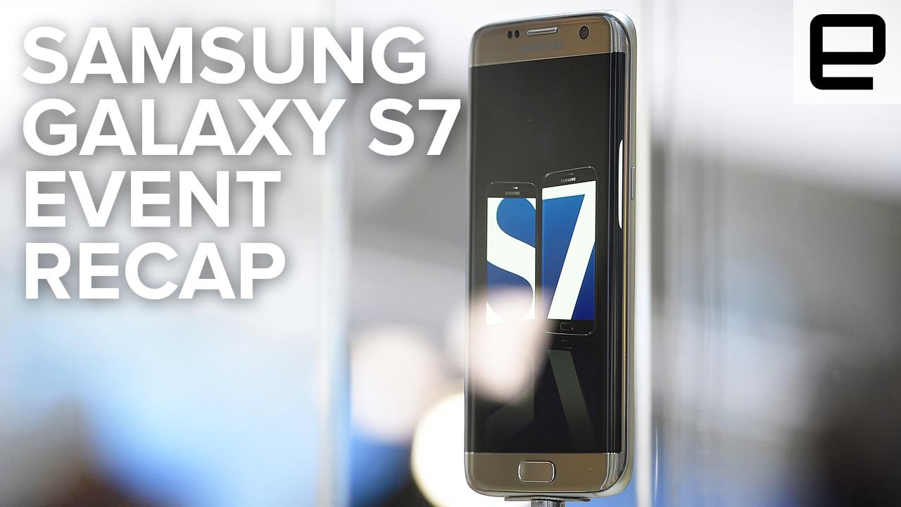 Samsung Galaxy S7 Launch Event
