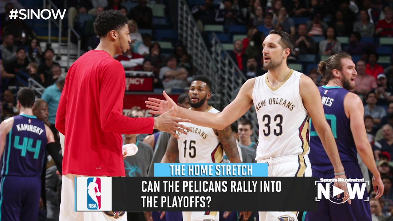 Anthony Davis Is 'Very Confident' Pelicans Will Make NBA Playoffs