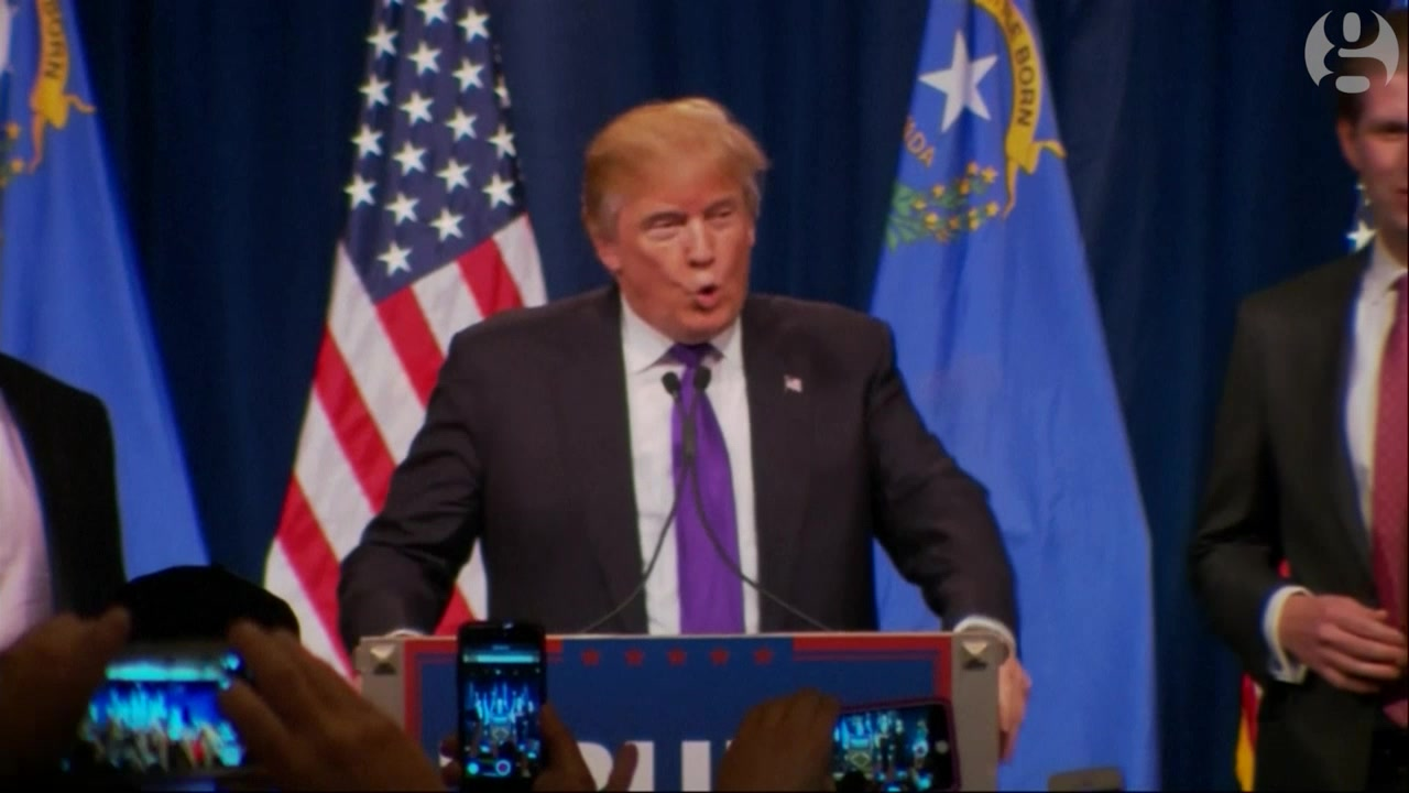 Donald Trump Rallies Supporters After Winning Nevada Caucus