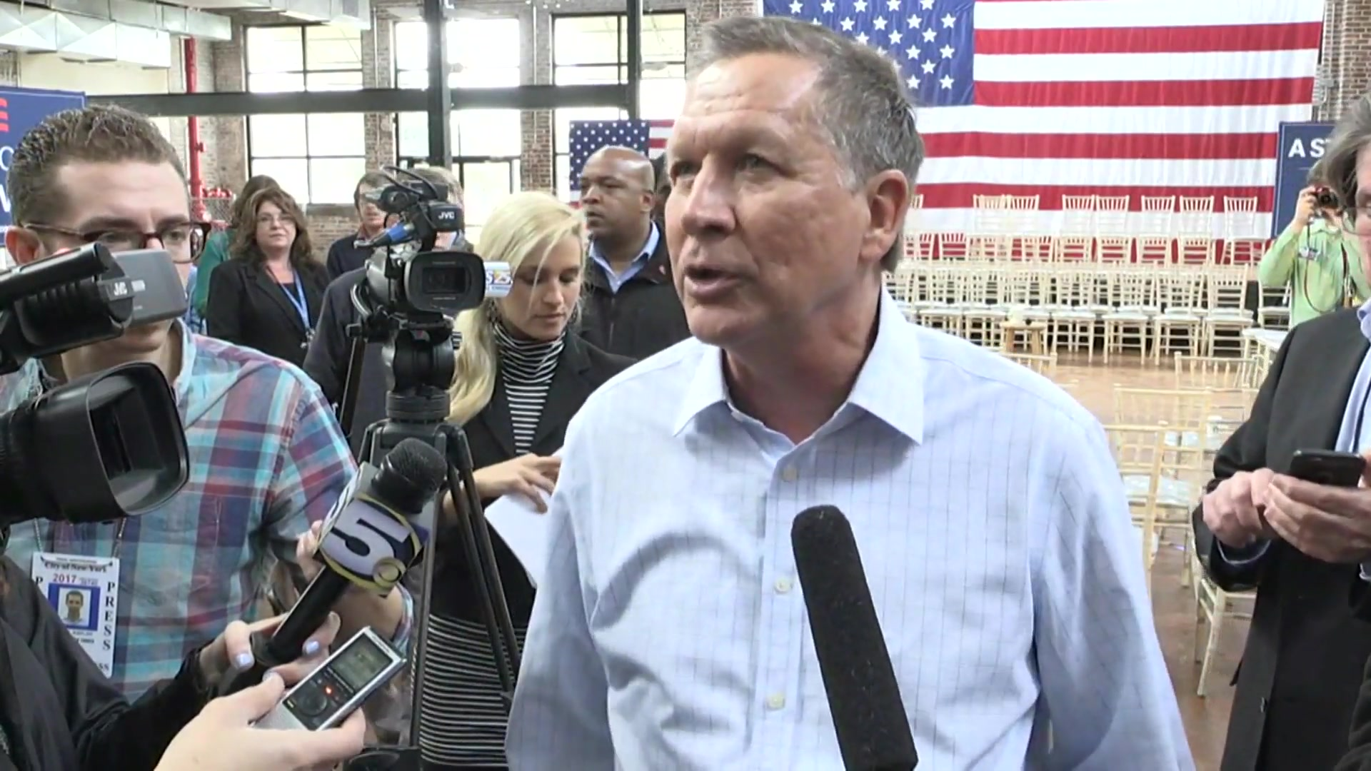 Kasich Contends 'I've Got the Best Chance of Being the Nominee Outside of Trump'
