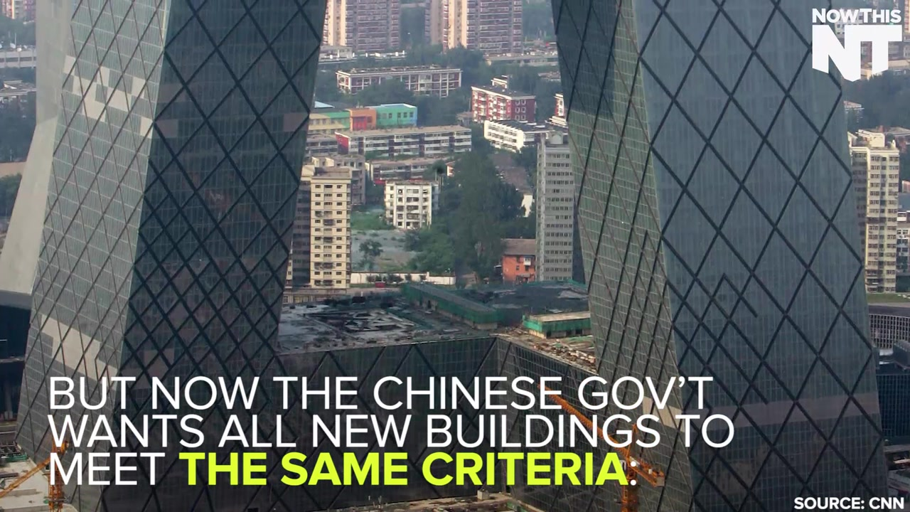 China Bans Weird Buildings
