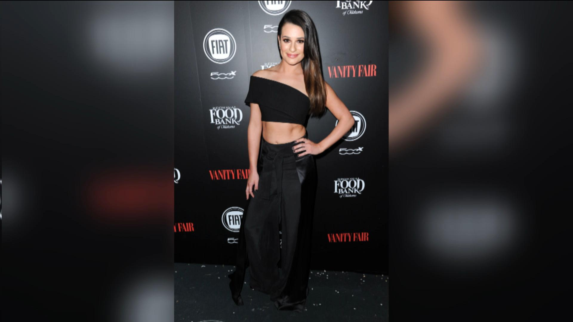 Lea Michele Shows Off Revenge Bod!