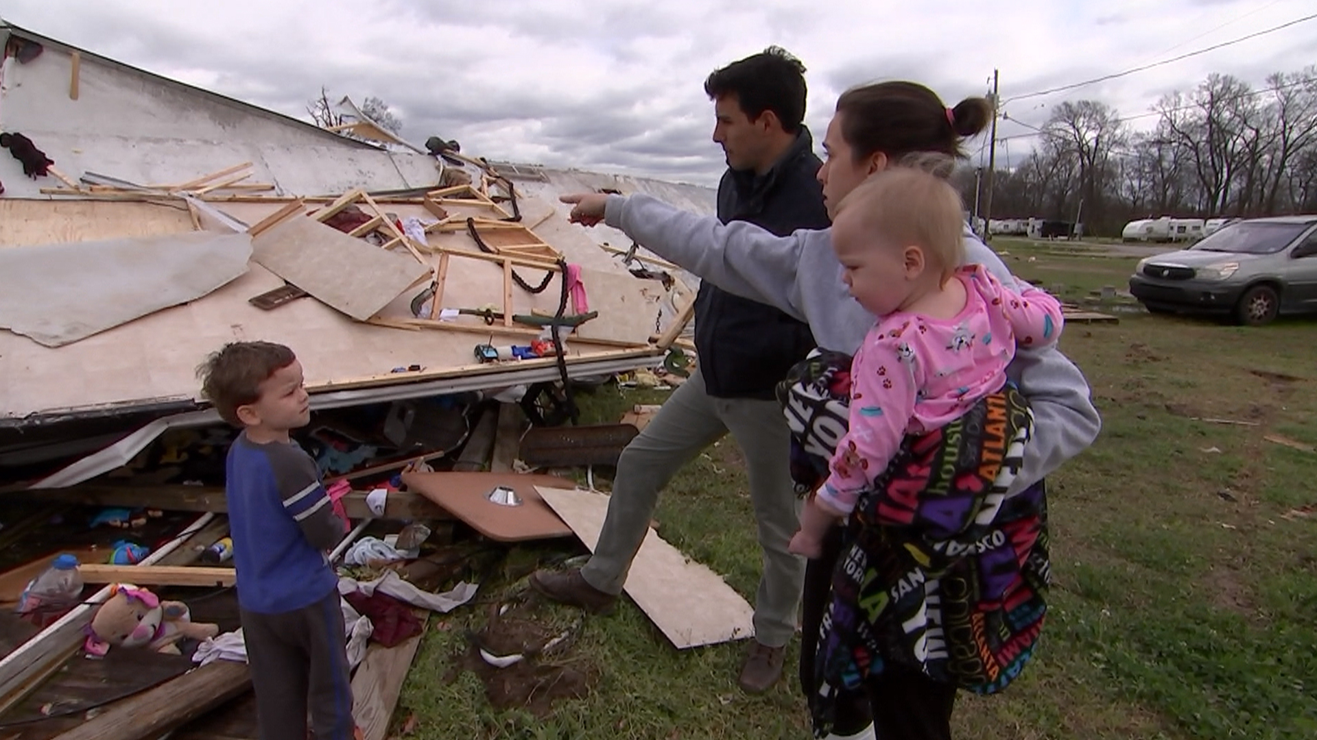 'Pray and Hold On': Family Recounts Riding Out La. Tornado