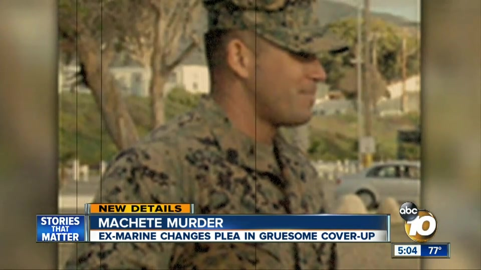 Marine Changes Plea, Admits Killing Girlfriend