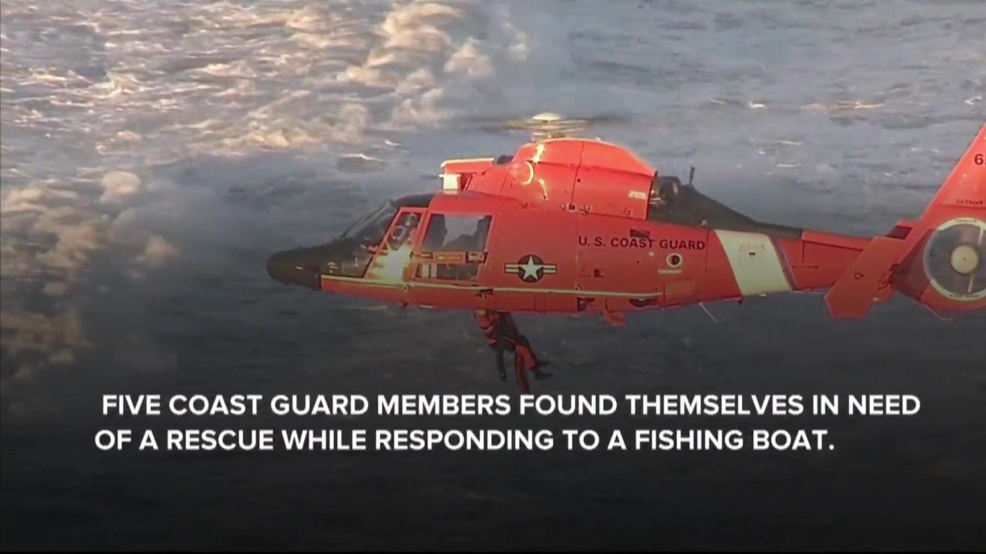 Coast Guard Boat Capsizes During Call