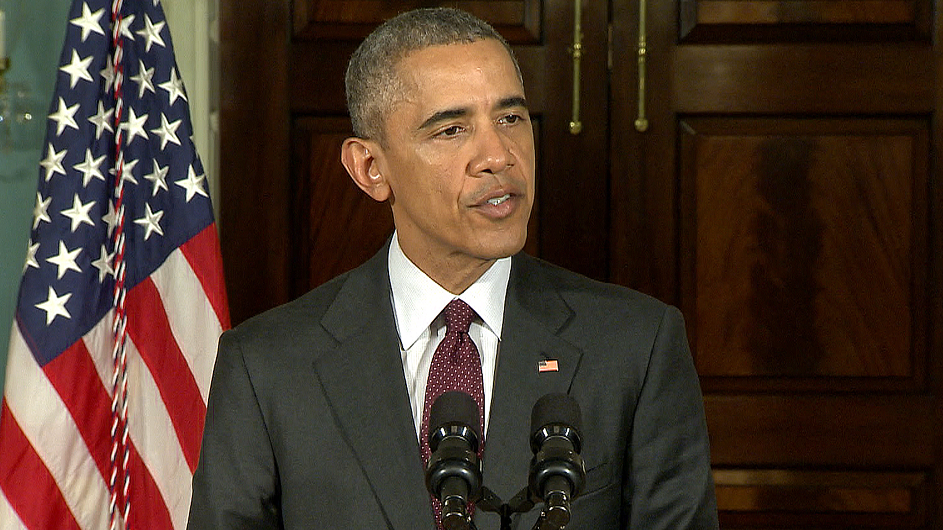 Obama on ISIS: Every Day We Destroy ISIS Forces, Infrastructure, Heavy Weapons