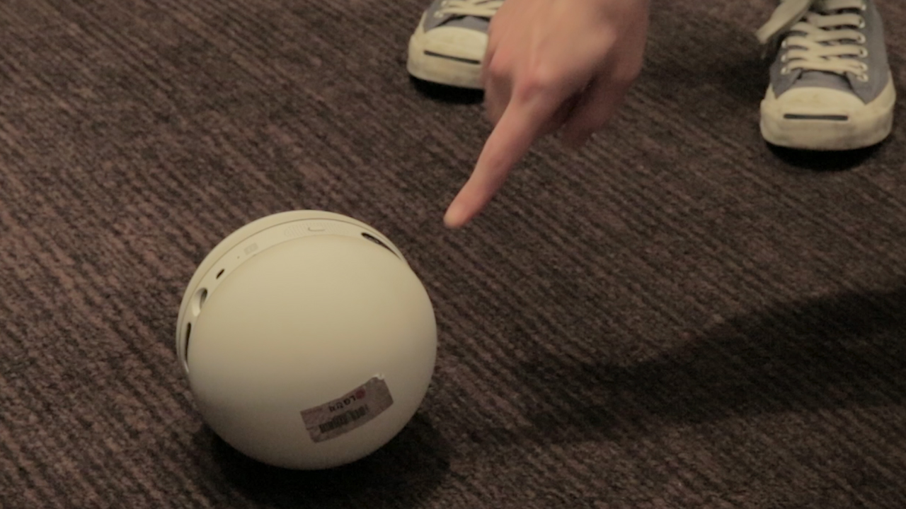 LG's Rolling Bot Is an Adorable House and Pet Sitter