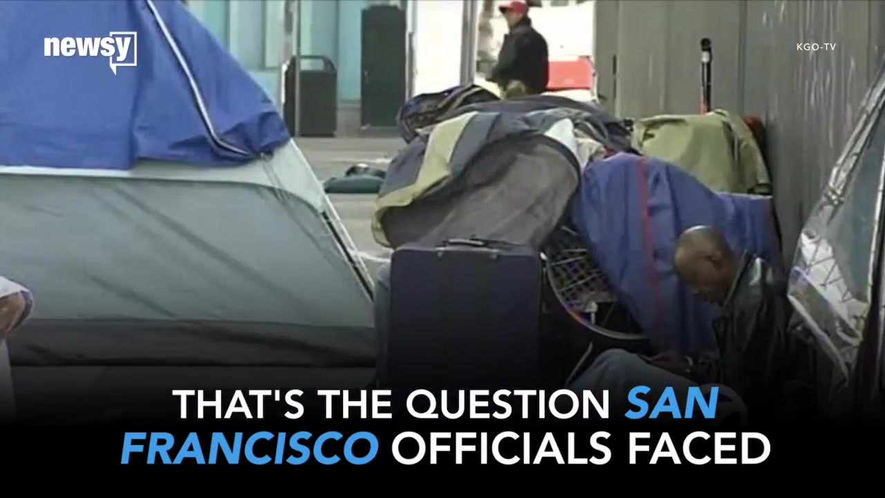 Tent Cities Force San Francisco to Confront Homelessness