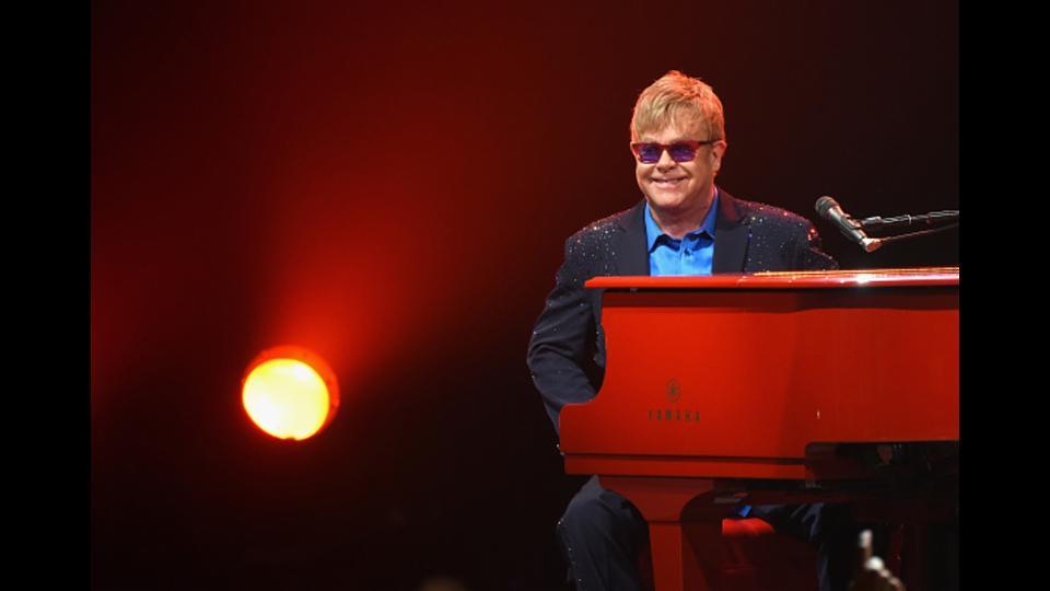Elton John Performs Live At Free Surprise Sunset Strip Concert (With A Surprise Guest!)