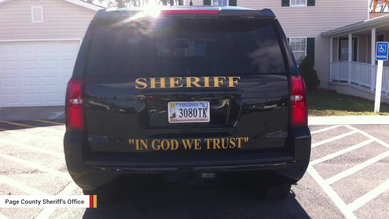 Sheriff's Department In Virginia To Add 'In God We Trust' Decals To Patrol Cars