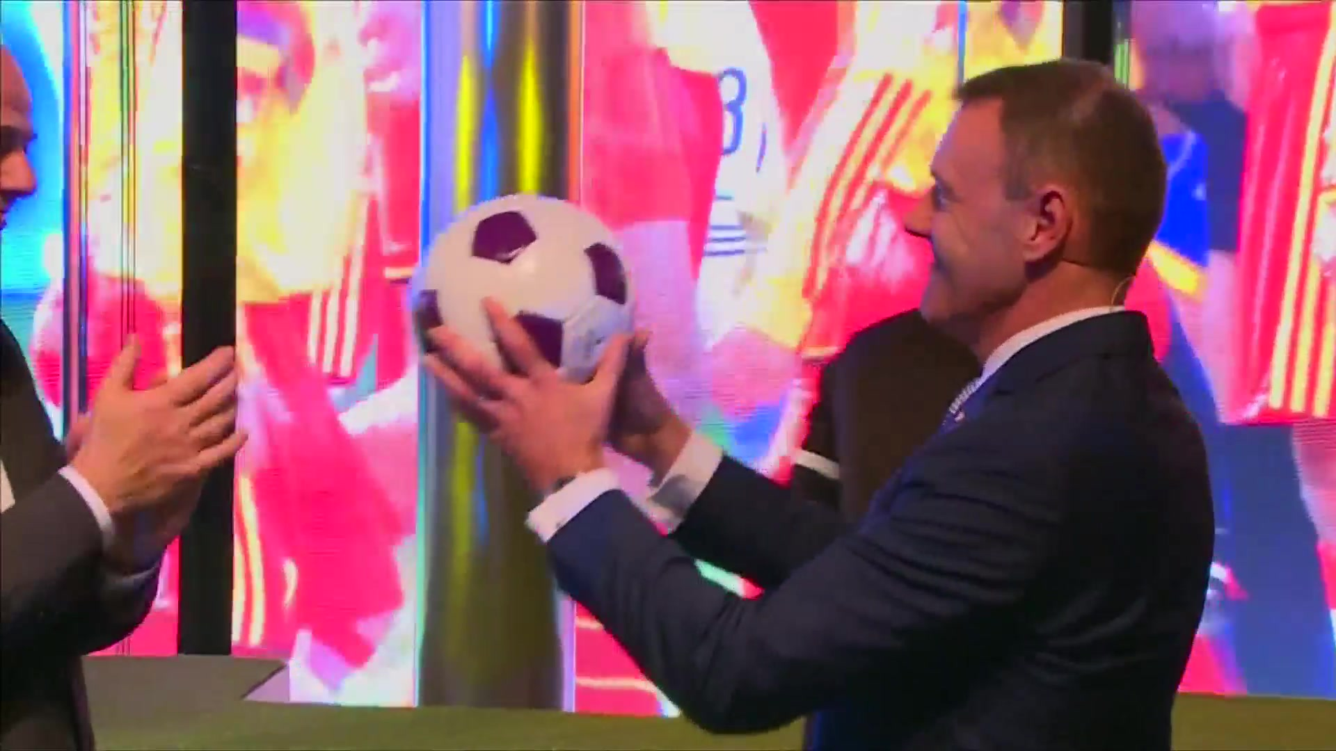 FIFA President Infantino Opens Soccer Museum in Zurich