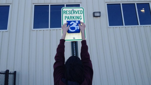 There's a Movement to Change the Way We See Handicapped Signs