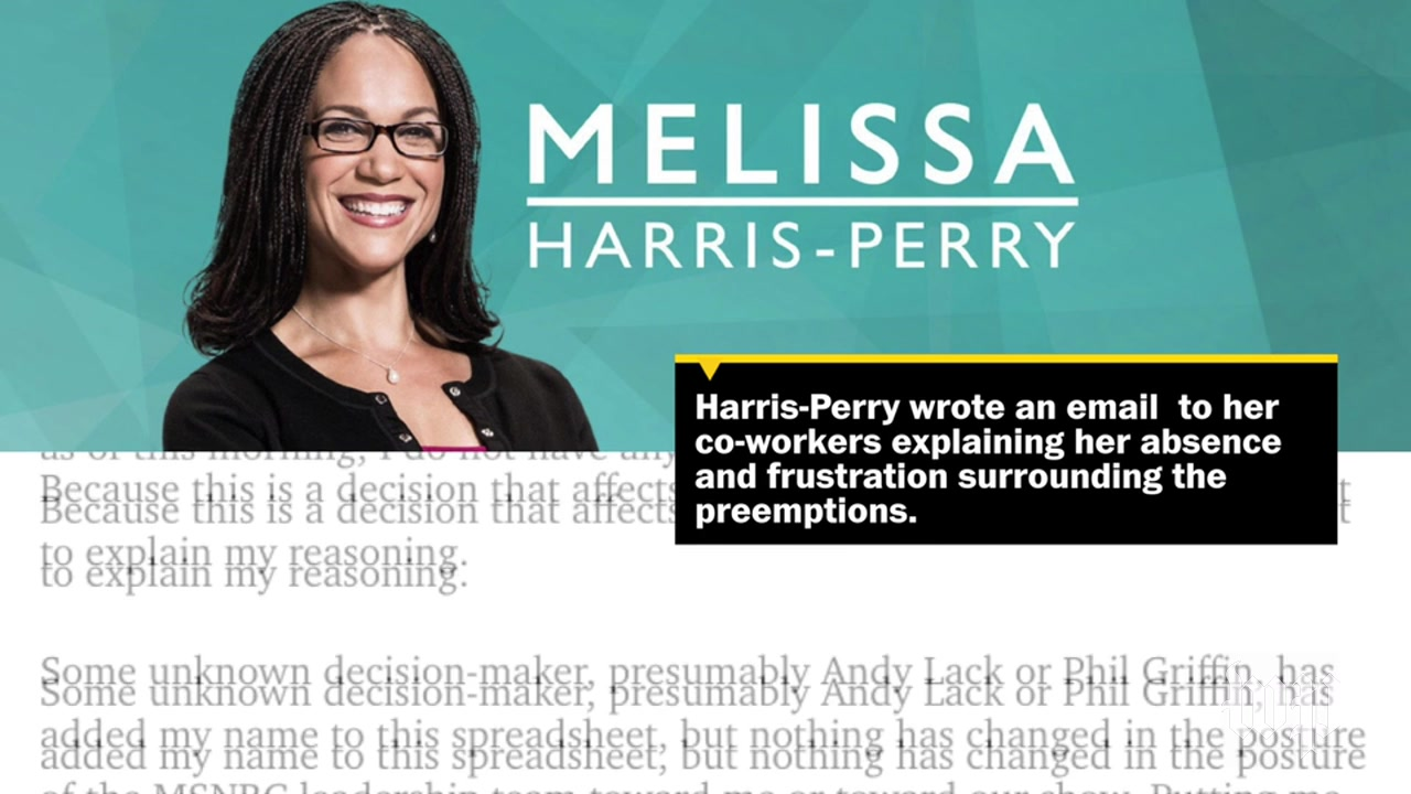 Inside the Feud Between MSNBC and Melissa Harris-Perry