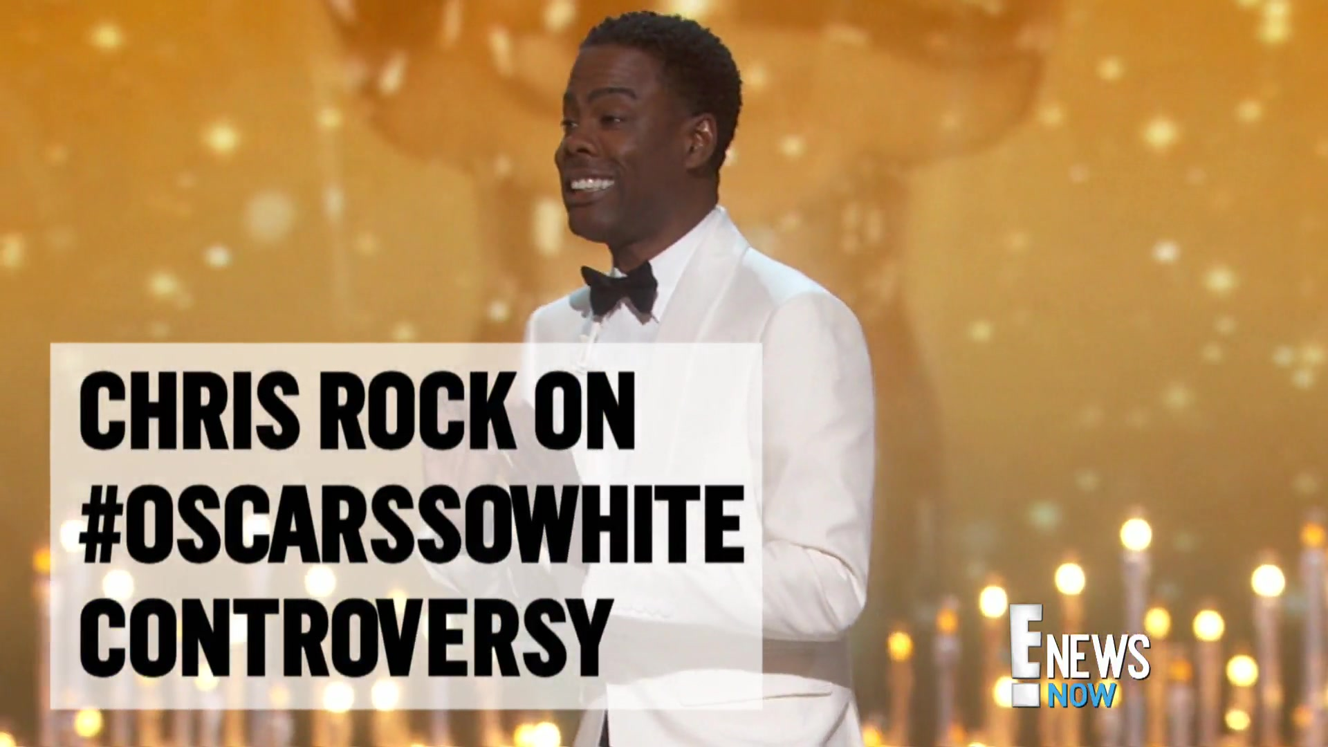 Chris Rock Talks #OscarsSoWhite Controversy