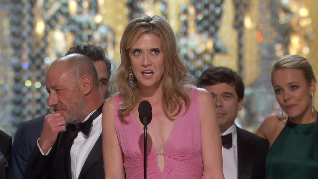 'The Oscars': Spotlight Wins 2016 Best Picture
