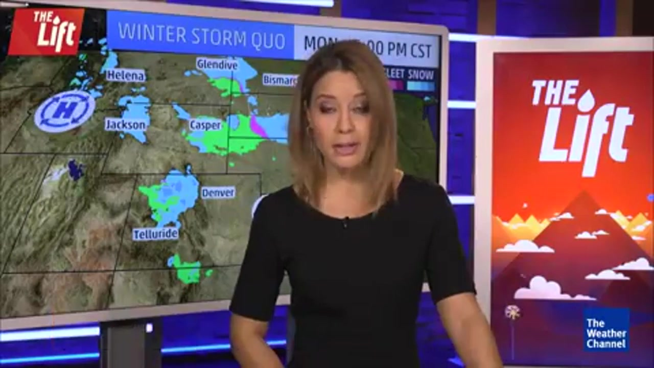 Winter Storm Quo Bringing Snow to Midwest, Northeast