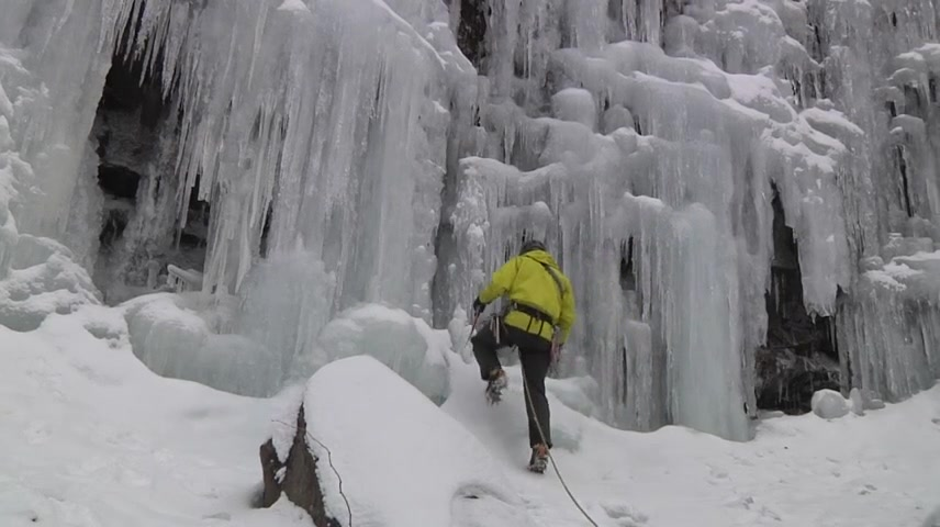 Ice Man Climbeth: Teaching Generations to Climb