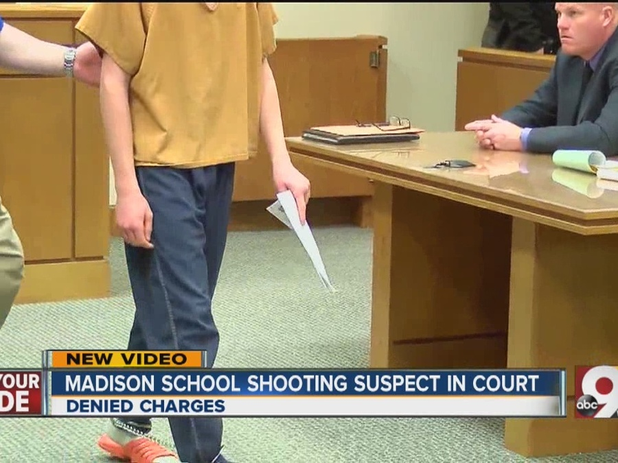 Madison High School Shooting Suspect in Court