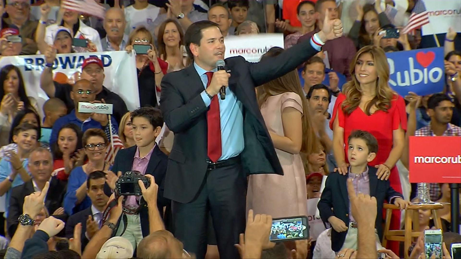 Rubio Embraces 'Underdog' Status
